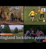 Covid: Outdoor meetings and sports to resume in England @BBC News live 🔴 BBC