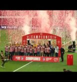 Madrid Turns Red & White as Atletico madrid lifts LaLiga Trophy