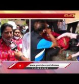 Out Sourcing  Sports Coaches Protest At LB Stadium    Hyderabad   V6 News