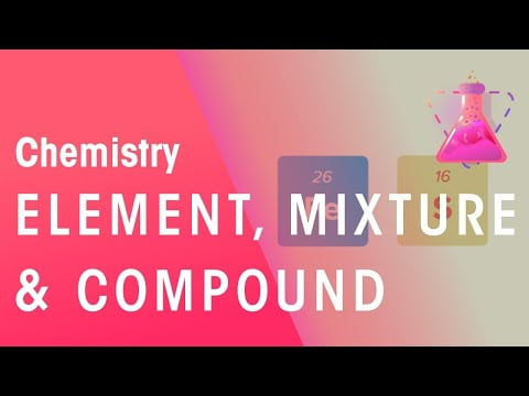 What Is An Element, Mixture And Compound? | Properties of Matter | Chemistry | FuseSchool