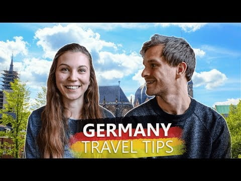 Must-Knows When Travelling To Germany For The First Time
