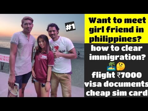 Indian travelling to Philippines 🇵🇭 ₹7000 only,  how I did clear Immigration?🤔