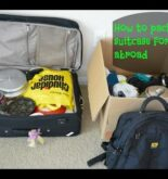 How to pack a suitcase while travelling from India to abroad