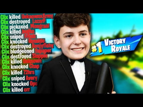 50 Times CLIX DESTROYED Other Fortnite Streamers
