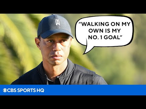 Tiger Woods Discusses his Chances of Ever Playing Golf Again | CBS Sports HQ