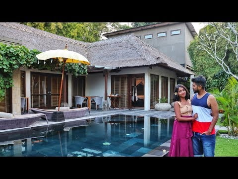 LUXURY VILLA TOUR IN BALI | Travel Vlog | Indian Couple travelling in Bali Ep 05 | Anagha Mirgal