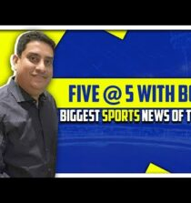 Breaking news from the World of Sports   Five @ 5   Sports Today