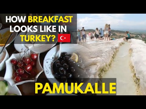 Pamukkale City & Hierapolis Travel Guide | My Hotel Breakfast Review | Travel Turkey