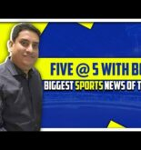 Ind v Aus news and other biggest sports news | Five @ 5 | Sports Today
