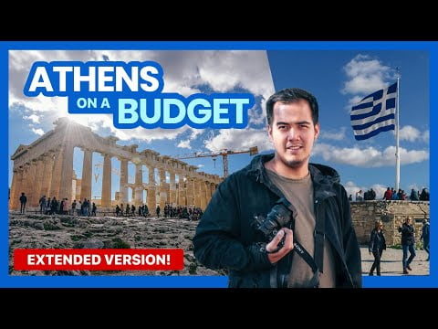 How to Plan a Trip to ATHENS | BUDGET TRAVEL GUIDE Part 1