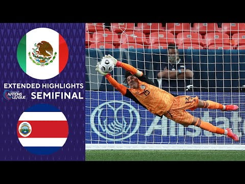 Mexico vs. Costa Rica: Extended Highlights | Concacaf Man's Nations League | CBS Sports Golazo