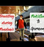 Travelling during Pandemic from Pakistan to Germany – Student