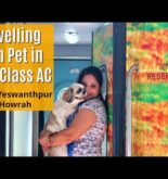 Full Journey Indian Railways FIRST CLASS With Dog | Travelling With Dog In Indian Railways
