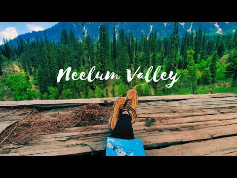 Travel guide to Neelum valley by local bus   Azad Kashmir road trip 2021