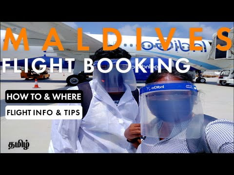 Maldives Flight Booking Tamil  How to book Male flights   Best Time   Flight booking Info & Tips