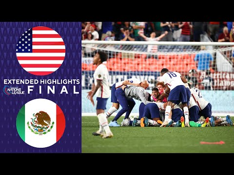 USA vs. Mexico: Extended Highlights | Concacaf Nations League Final | CBS Sports Golazo