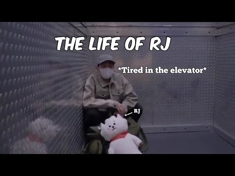 RJ travelling with BTS