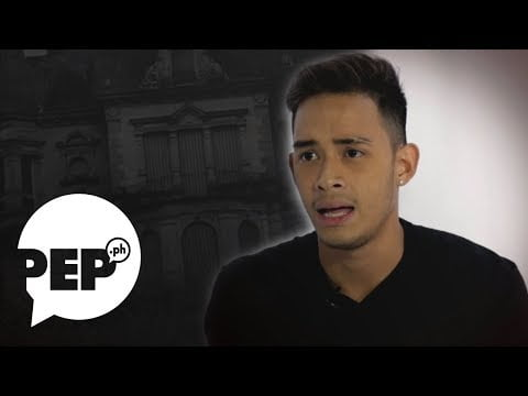 """Diego Loyzaga and the """"occupants"""" of his old house 
