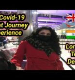 Travelling from UK to India during covid after flight resume | Entire Journey