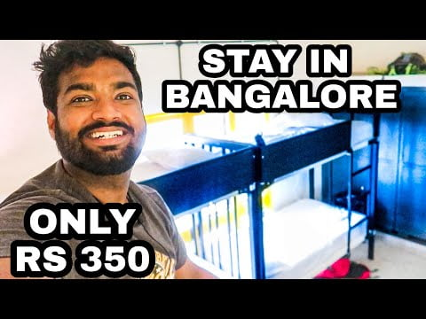 How to Stay in Bangalore in Rs 350 Per Day   Travelling Paaji