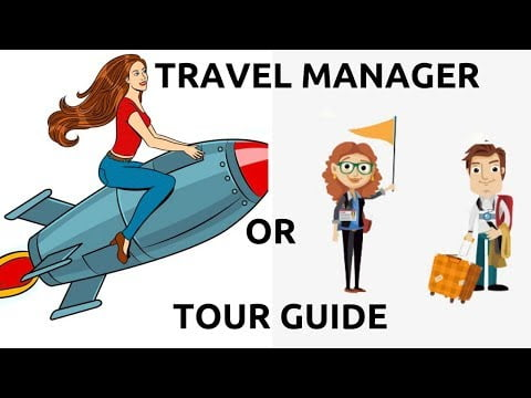 TOUR GUIDE OR TRAVEL MANAGER   TRAVELLING JOBS   HOW TO BECOME TOUR GUIDE
