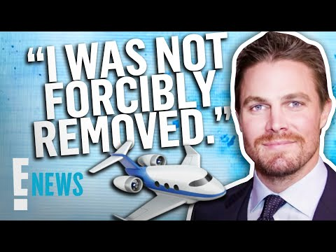 """Stephen Amell Refutes He Was """"Forcibly Removed"""" From Flight 