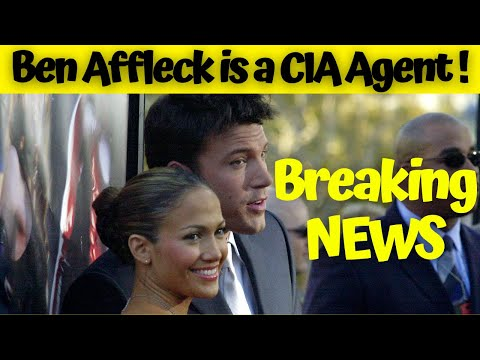 Shocking News!! J Lo's Love Ben Affleck got into the CIA and promising to do the Agency proud