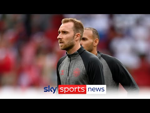 Christian Eriksen 'stabilised' after collapsing during Euro 2020 opener against Finland