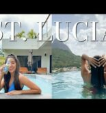 ST. LUCIA TRAVEL VLOG!! + travelling during COVID (what you need to know!) // Shakira Curtis