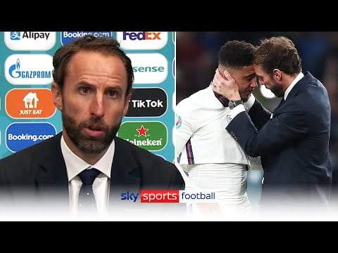 """""""The penalty decisions are on me""""   Gareth Southgate on England's Euro 2020 final defeat to Italy"""