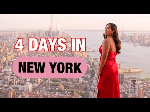 New York City Travel Guide || 4 Days in NYC!