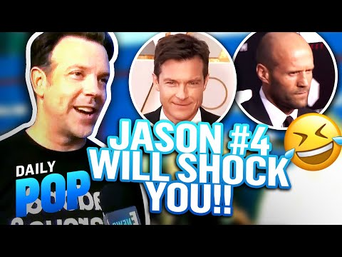 Why Jason Sudeikis Doesn't Think He's the Most Famous Jason | Daily Pop | E! News