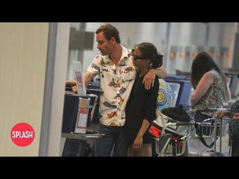 First Video of Newlyweds Michael Fassbender and Alicia Vikander   Daily Celebrity News   Splash TV