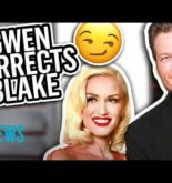 Gwen Stefani Corrects Blake Shelton After He Forgets Her Last Name | E! News