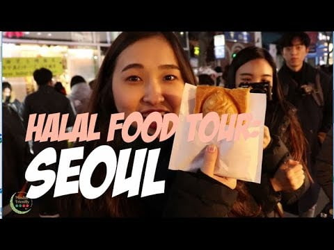 HALAL FOOD TOUR: Guide to travelling in Seoul HALAL STYLE!