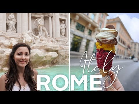 TRAVELLING TO ITALY🇮🇹ROME (3 Days Travel Guide and Rome Vlog)