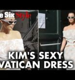 Kim Kardashian wore what to the Vatican?! | Page Six Celebrity News