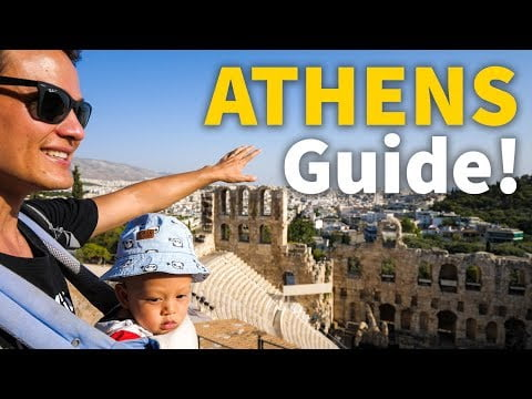 Best of Athens Travel Guide!   Attractions, Food, and Tips for Visiting Athens, Greece!