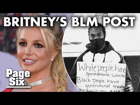 Is Britney being controlled: her BLM post divides fans | Page Six Celebrity News