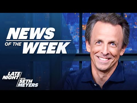 Republicans Investigate Insurrection, Bezos Goes to Space: Late Night's News of the Week