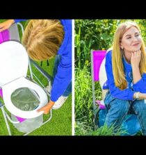 GENIUS OUTDOOR HACKS AND TRAVELLING DIYS    Summer Hacks And Funny Vacation Tips by 123 Go! Live