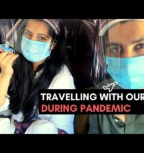 Tips For Travelling With A Baby During Pandemic   Baby's First Flight   Arjuna & Divya Vlogs