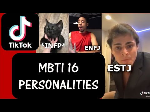 The Most Popular Funny Tik Toks as MBTI (16 personality types) meme PART 6