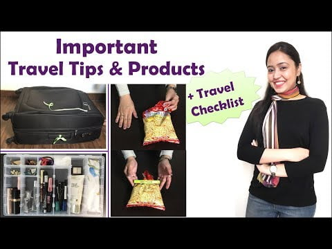 Smart Travel Tips & Essentials | Travel Checklist | Things To Carry While Travelling | Her Fab Way