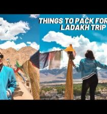 What to carry when travelling to Leh Ladakh   Pack with me