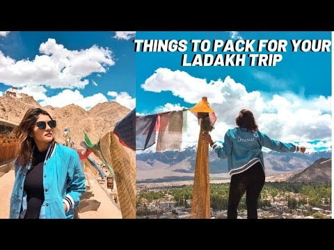 What to carry when travelling to Leh Ladakh | Pack with me