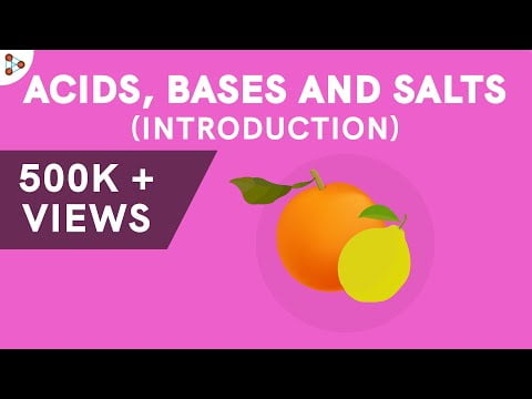 Acids and Bases and Salts – Introduction   Chemistry   Don't Memorise