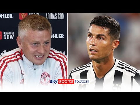 """""""He's the greatest player of all-time!""""   Solskjaer on Cristiano Ronaldo & transfer speculation"""