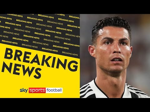 BREAKING! Manchester City are no longer in the running to sign Cristiano Ronaldo