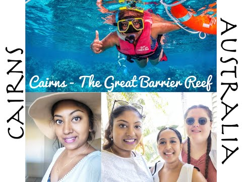 Just some kiwi's travelling in Cairns   The Great Barrier Reef